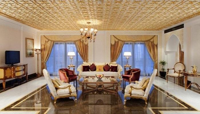 Osmanlı Saraylarını Andıran Dubai'deki Lüks Otelin Odaları