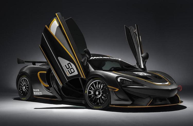 """Pistleri Titreten Hız Canavarı: """"2017 McLaren 570S GT4"""""""