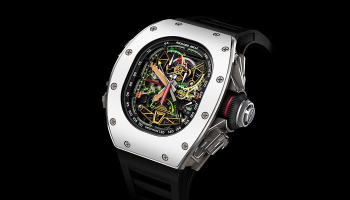 Richard Mille 50-02 ACJ Tourbillon Split Seconds Chronograph Modelinin Eşsiz Tasarımı