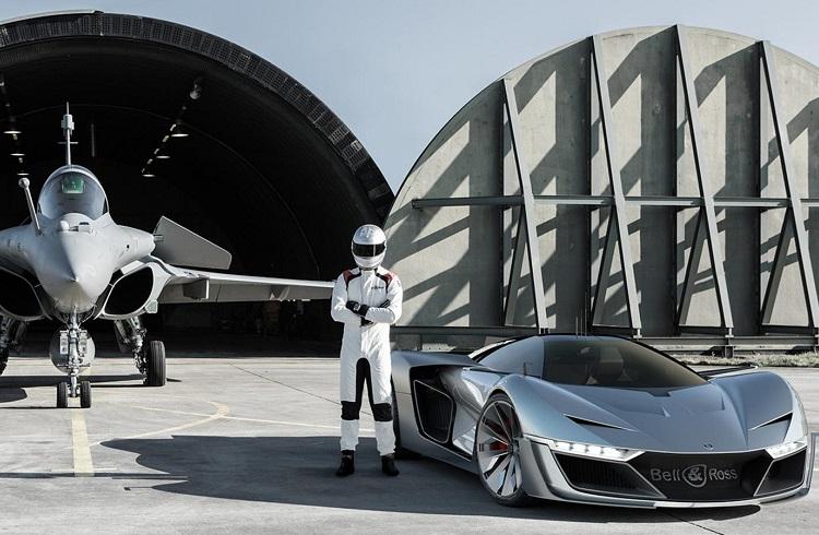 "Saat Markası Bell&Ross'tan Süper Ötesi Otomobil: ""Aero GT"""