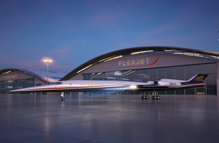 """Sesten Bile Hızlı Dünyanın İlk Süpersonik Yolcu Jeti: """"Aerion AS2"""""""