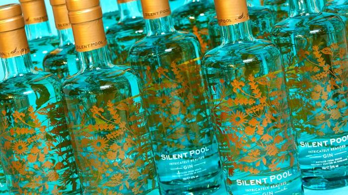 Silent Pool Distillers Cin Şişesinin Tasarımı