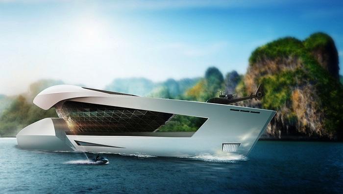 Tasarımı ve Olanakları ile Etkileyici Bir Süper Yat Olan CF8 Future Concept'in Performansı