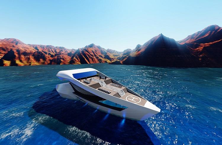 "Uzay Gemisini Andıran Süper Yat: ""Sea Level CF8 Future Concept"""
