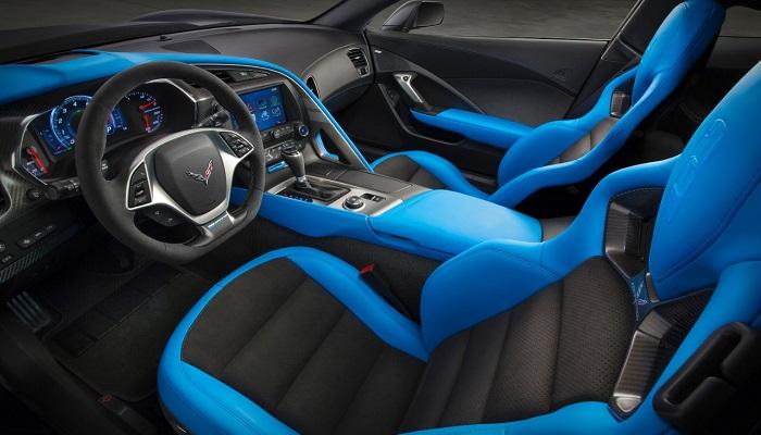 Yeni Corvette Z06 Modelinin İç ve Dış Tasarımı