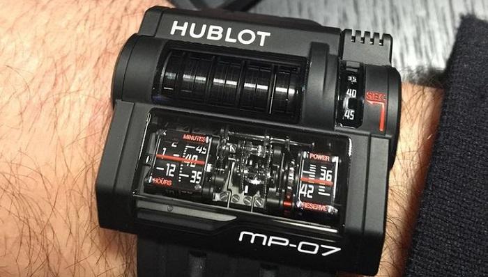 MP-07 Modeli Hublot'un En Pahalı Saatleri Arasında
