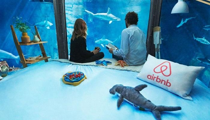 Aquarium de Paris'deki Masalsı Yatak Odasının Eşsiz Tasarımı