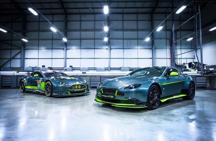 """Aston Martin'den Büyüleyici Bir Şaheser: """"Vantage GT8"""""""