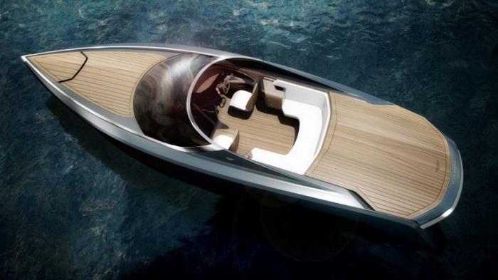 Aston Martin'in Etkileyici Sürat Teknesinin Tasarımı