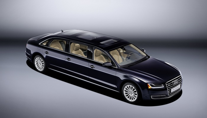 Audi A8L Extended Modelinin Sıra Dışı Tasarımı