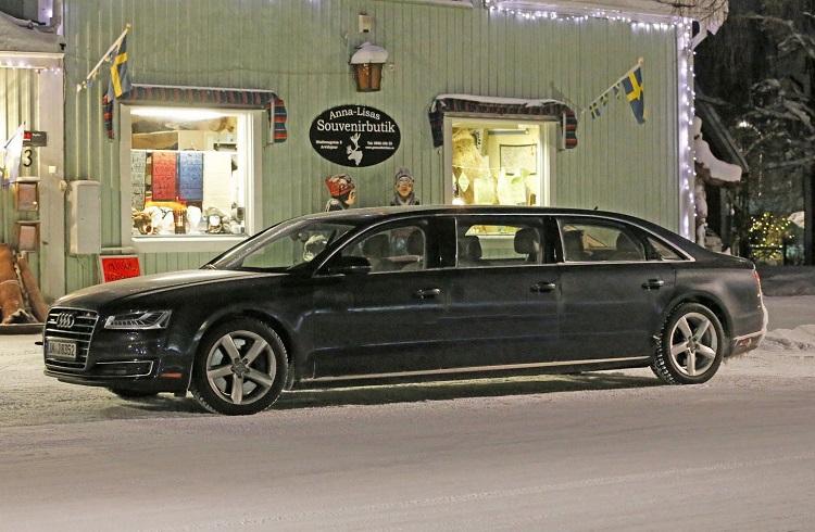 "Audi'nin Özel Üretim Muhteşem Limuzini: ""A8L Extended"""
