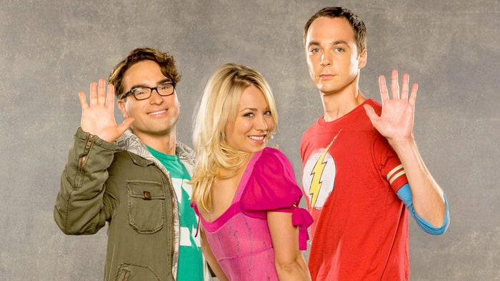 Johnny Galecki, Kaley Cuoco ve Kim Parsons - Big Bang Theory