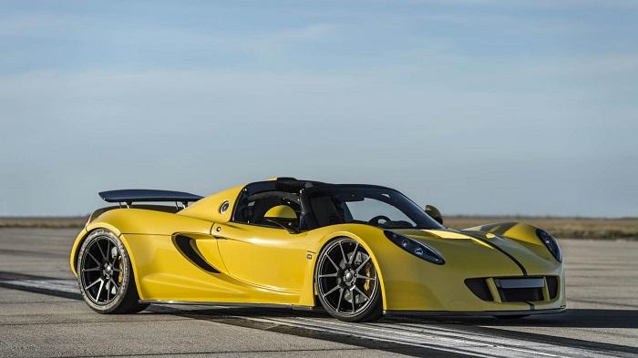 Dünyanın En Hızlı Üstü Açık Arabasının Etkileyici Tasarımı