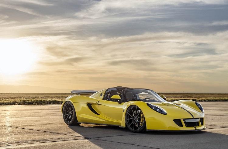 """Dünyanın En Hızlı Üstü Açık Otomobili: """"Hennessey Venom GT Spyder"""""""