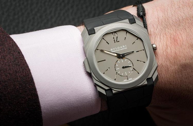 Bvlgari'den Dünyanın En İnce Dakika Tekrarlayıcı Özelliğine Sahip Saati