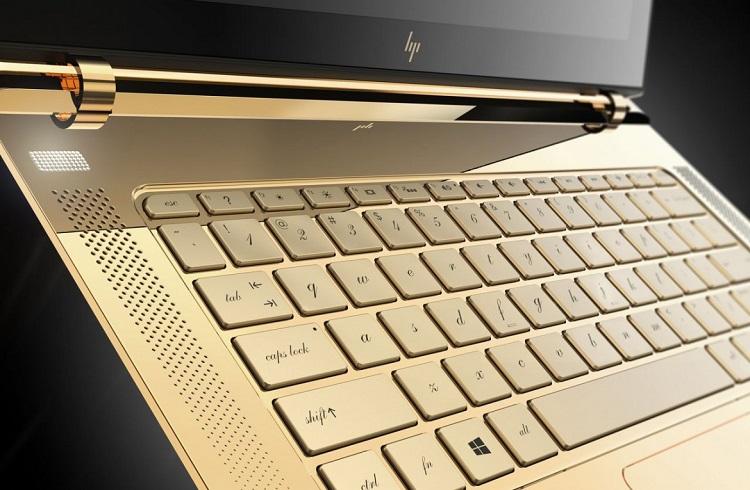 """Dünyanın En İnce Laptopu: """"Altın Kaplama HP Spectre 13.3"""""""