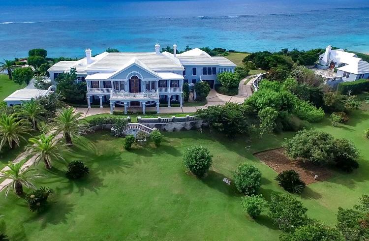 """Bermuda Sahillerinin Süsü Muhteşem Malikane: """"Old Battery"""""""