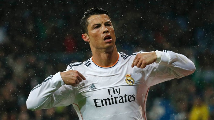 Cristiano Ronaldo (Manchester United-Real Madrid)