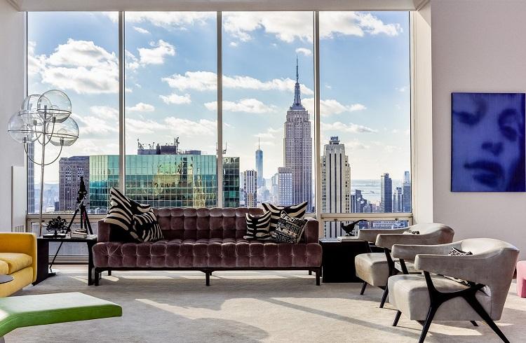 """New York'un Güzelliğini Ayaklar Altına Seren: """"Gucci Penthouse"""""""