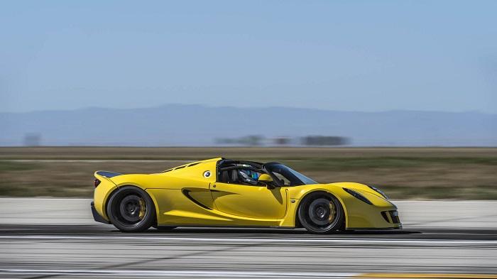 Hennessey Venom GT Spyder Modelinin Akıl Almaz Performansı