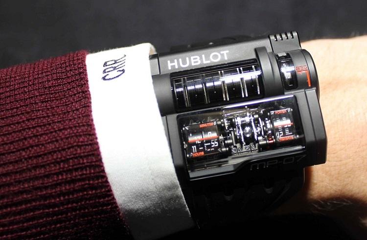 """Hublot'un Yeni Mühendislik Harikası Şık Saati: """"MP-07"""""""