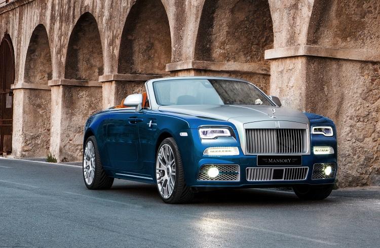 Mansory Harikalar Yaratmaya Rolls Royce Dawn ile Devam Ediyor!