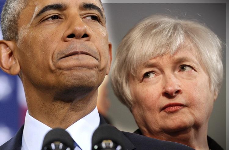 Obama ve Yellen 2 Yılın Ardından İlk Kez Bir Araya Geldiler