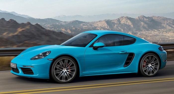 Porsche'nin Yeni Tasarım Harikası 718 Cayman