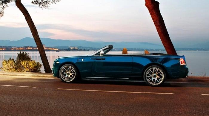 Rolls Royce Dawn Mansory Versiyonun Göz Alıcı Görünümü