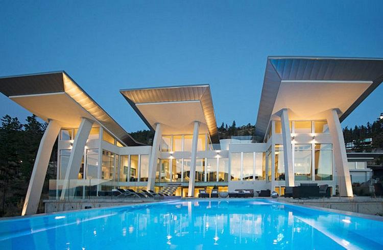 """Şaşırtıcı Güzellikteki Tasarım Harikası: """"Sheerwater Home"""""""