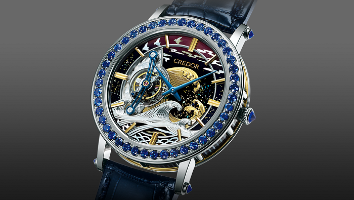 Seiko Credor Fuganku Tourbillon Saatinin Tasarımı