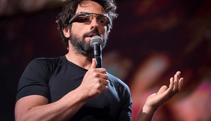 Sergey Brin ve Sweatshirtleri