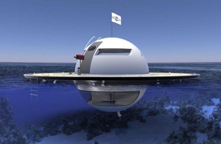 """UFO'dan İlham Alan Yüzen Ev: """"Unfentigied Floating Object"""""""