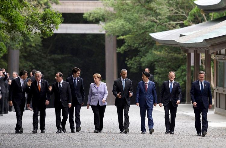2016 Mayıs G7 Zirvesi Sonuç Bildirisi Yayınlandı
