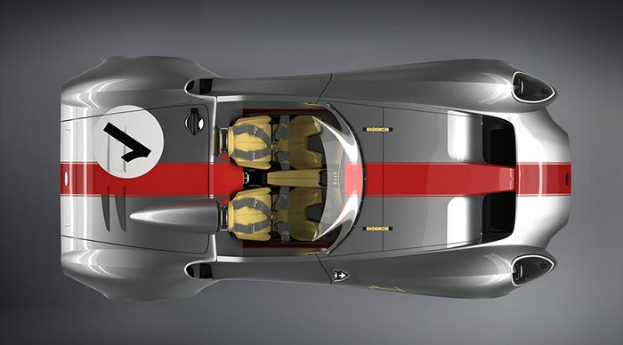 60'ların Harikalarından Esinlenilen Modern Bir Otomobil