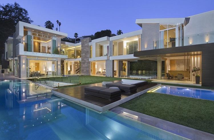 Büyüleyici 1307 Sierra Alta Way Villası ve Modern Mimarisi