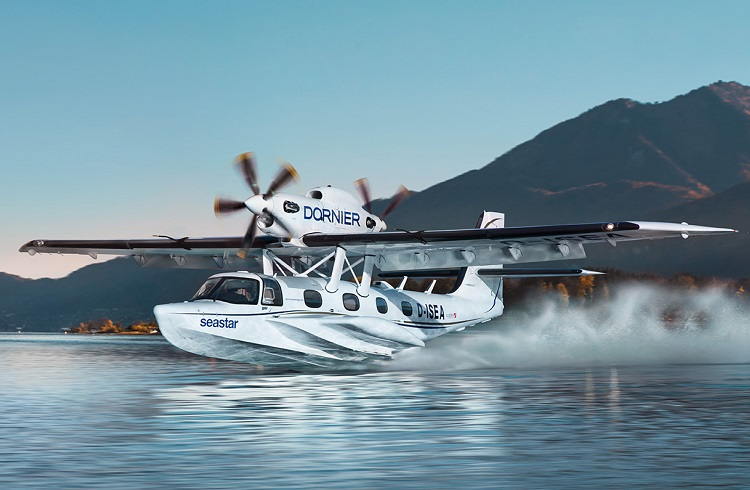 Dornier Seastar Deniz Uçağı ile Gizemli Mavilikleri Keşfedin!