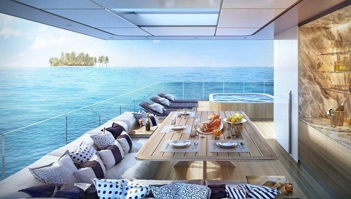 Floating Seahorse Villalarının İnanılmaz Tasarımı