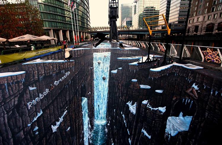 Dünyanın En Etkileyici 3 Boyutlu Sokak Sanatı Çalışmaları