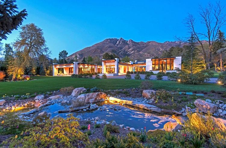 Salt Lake City Mansion ile Hollywood Yıldızlarını Kıskandırmaya Ne Dersiniz?