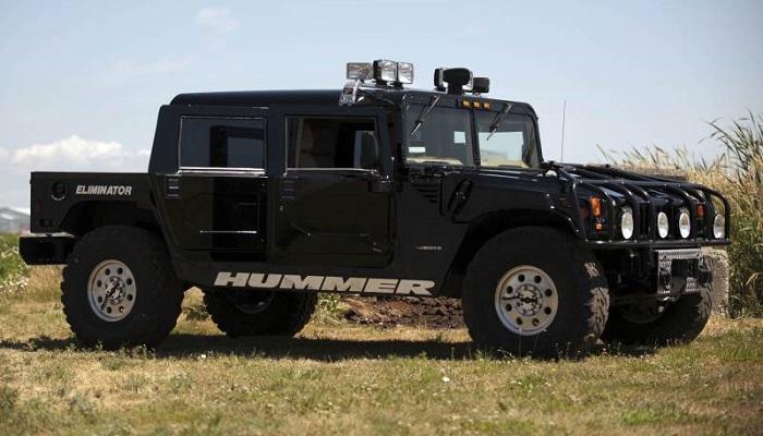 Hummer'ın İlk Modellerinden Biri Olan H1'in Tasarımı