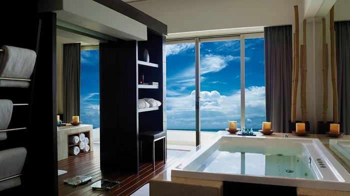 Live Aqua Cancun Otelinin Gösterişli Tasarımı