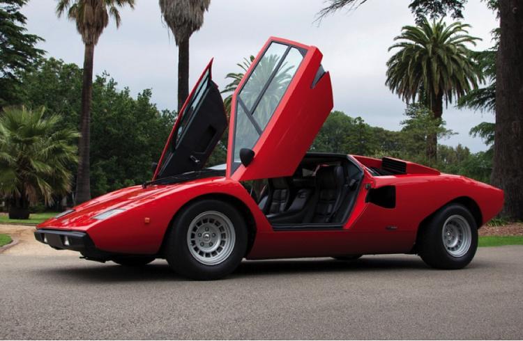 Nadir Bulunan 1978 Lamborghini Countach LP400 S Müzayede Sınırlarını Aşıyor!