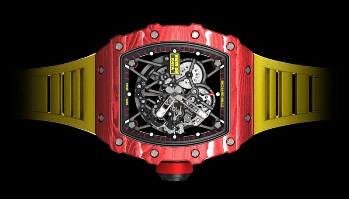 RM 35-02 Saatinin Renkli Tasarımı