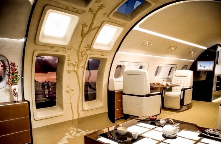 Kyoto Özel Jet Konsepti ile Gökyüzü Manzarasının Tadını Çıkartın!