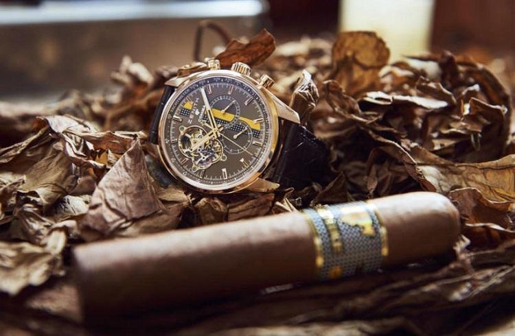 İsviçreli Zenith Firmasından Kübalı Cohiba Purolarına Özel Bir Saat!