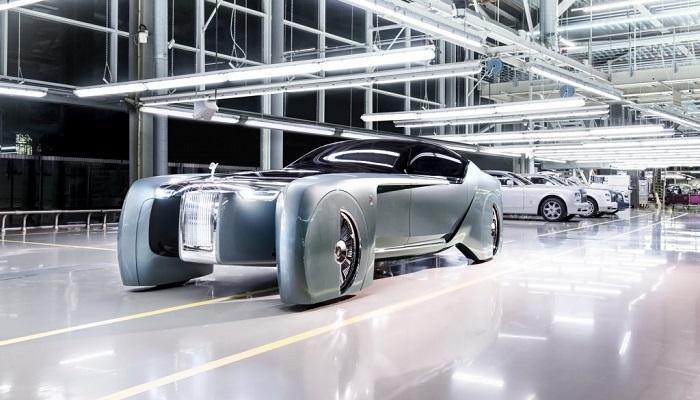100. Yıla Özel Konsept Rolls-Royce Modelinin Sahip Olduğu Güç