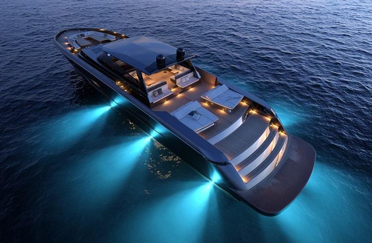 "CNM Yachts Firmasından Karanlık Suları Aydınlatan Bir Yat: ""Continental 110"""