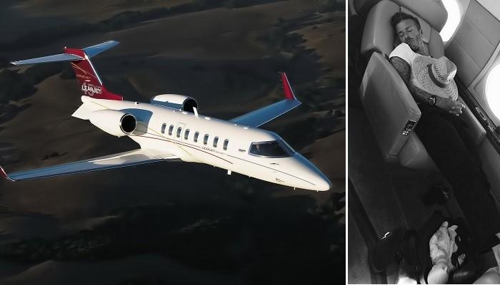 David Beckham - Bombardier Learjet 70
