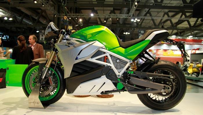 Energica Eva Motosikletinin Göz Alıcı Tasarımı